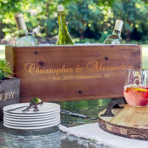 Personalized Wine Trough