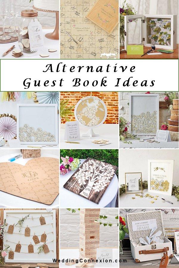 Non traditional alternative wedding guest book ideas - WeddingConnexion.com