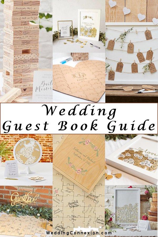 Your guide to alternative wedding guest book - WeddingConnexion.com