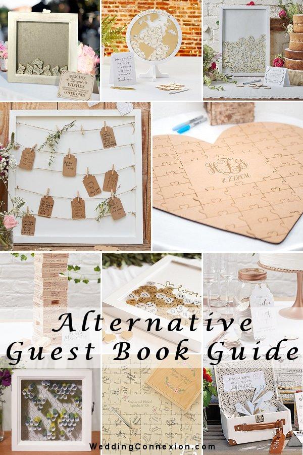 Alternative wedding guest book Guide - WeddingConnexion.com