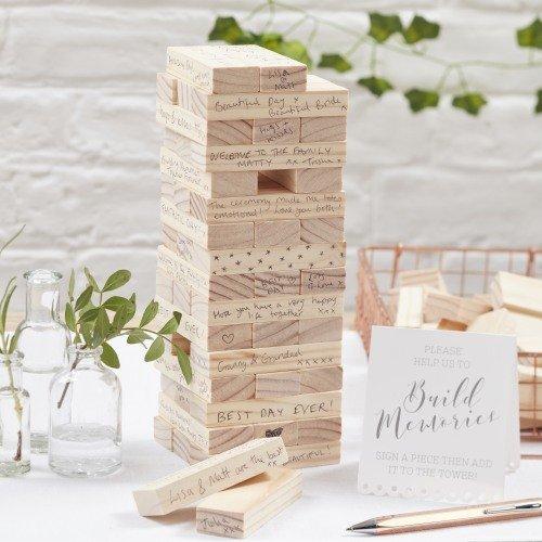 Alternative Guest Book Building Blocks