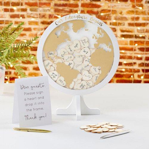 Alternative Guest Book Globe