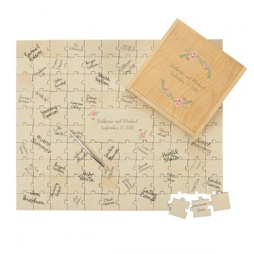Personalized Puzzle Guest Book