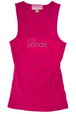 Pink Bride Gemstone Tank Top