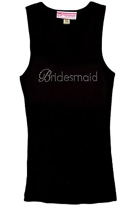 Bridesmaid Gemstone Tank Top