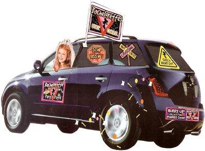 Bachelorette Party Car Decorating Kit