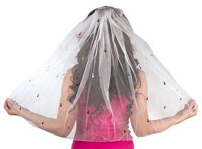 Bachelorette Party Naughty penis veil