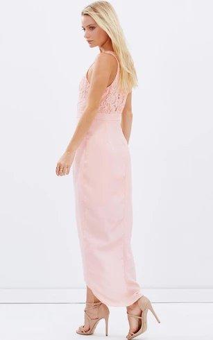 Modern Romance Sleeveless Chiffon Bridesmaid Dress
