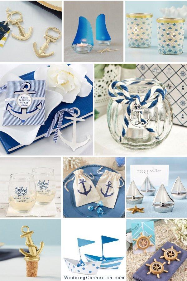 Nautical Themed Wedding Favors -WeddingConnexion.com