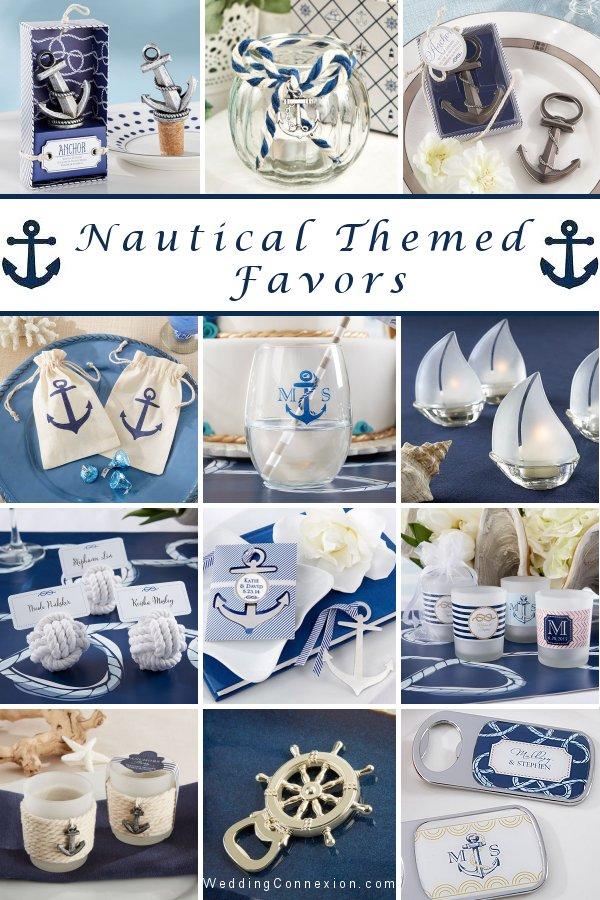 Nautical Themed Wedding Favor Ideas -WeddingConnexion.com