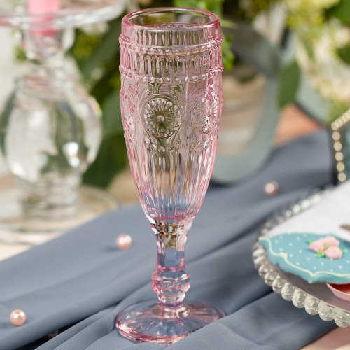 Blast From The Past Vintage Glassware Table Decor Idea