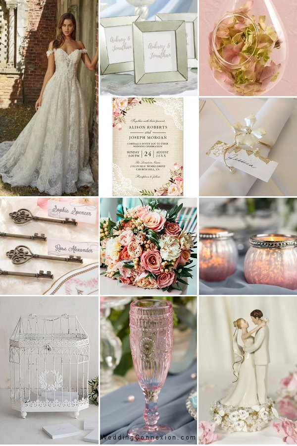 Get inspired with our Blast From The Past wedding theme favor and decor ideas - WeddingConnexion.com