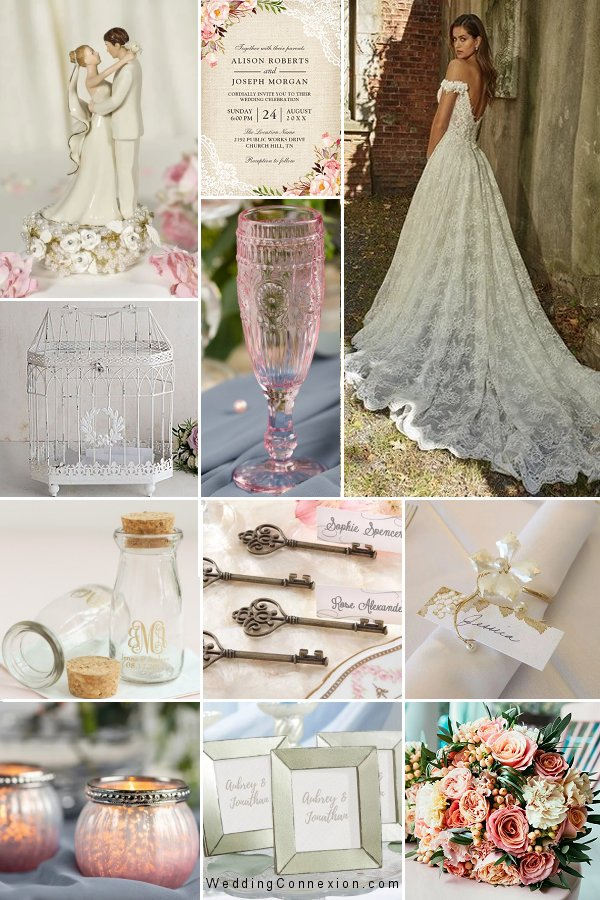 Blast From The Past - A romantic vintage wedding theme inspiration - WeddingConnexion.com