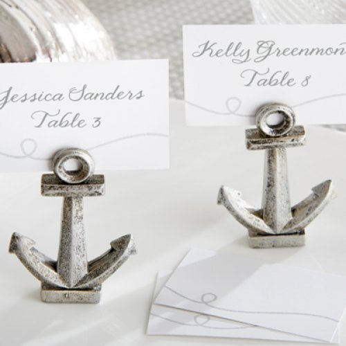 Anchor Place Card Holder Favors