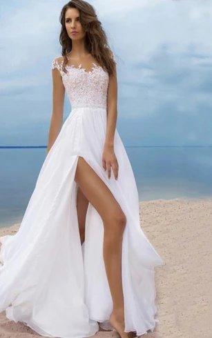 Sexy Beach Style Wedding Dress