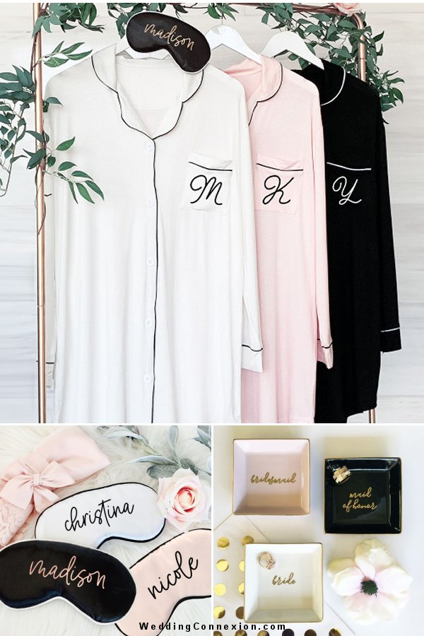 Find the perfect gift idea for your bridesmaids with our helpful guide at WeddingConnexion.com