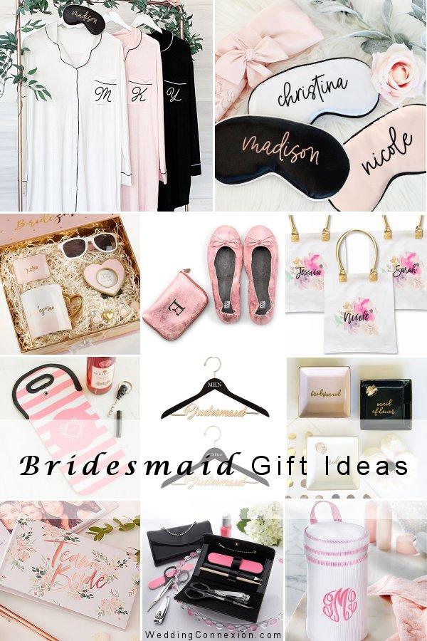 Visit our blog for stylish bridesmaid gift ideas -WeddingConnexion.com