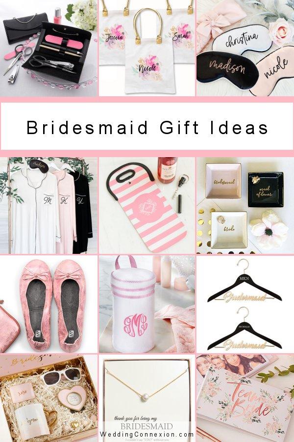 Bridesmaid Stylish Gift Ideas -WeddingConnexion.com