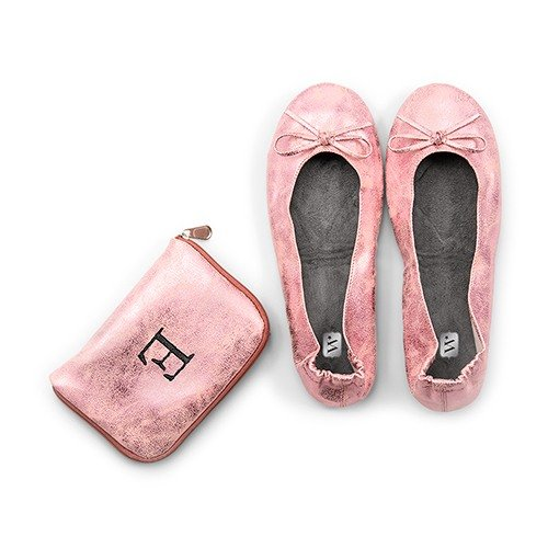 The foldable flats pocket shoes makes for a practical gift for your bridesmaids.