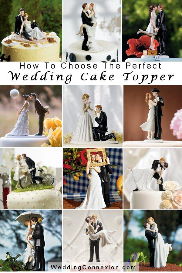 How to choose the perfect wedding cake topper - WeddingConnexion.com