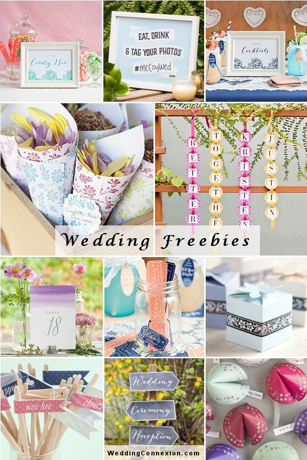 Free Wedding Freebies 2020 Edition Guide From WeddingConnexion.com