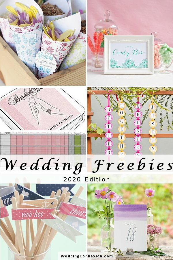 Wedding Freebies For The Thrifty Bride-To-Be 2020 Edition - WeddingConnexion.com