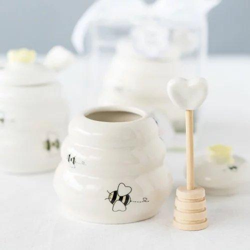 Tea Bridal Shower Honey Pot Favor