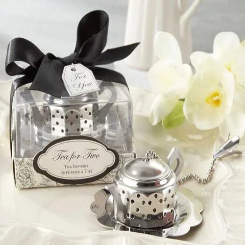 Tea Bridal Shower Mini Teapot Infuser Favor