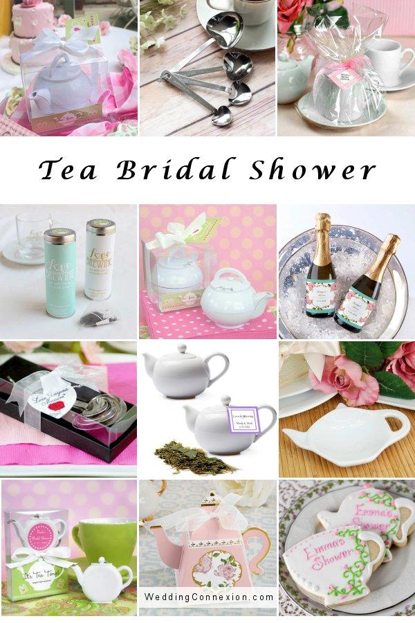 Tea Bridal Shower Ideas - WeddingConnexion.com