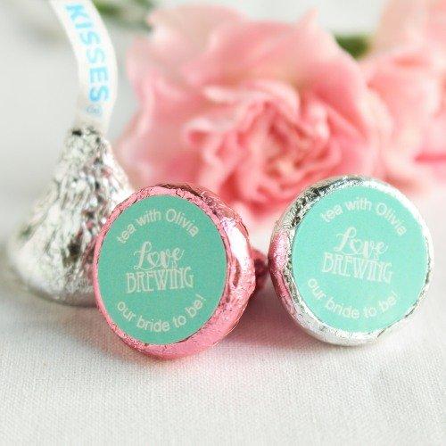 Tea Bridal Shower Hershey's Kisses Party Favors