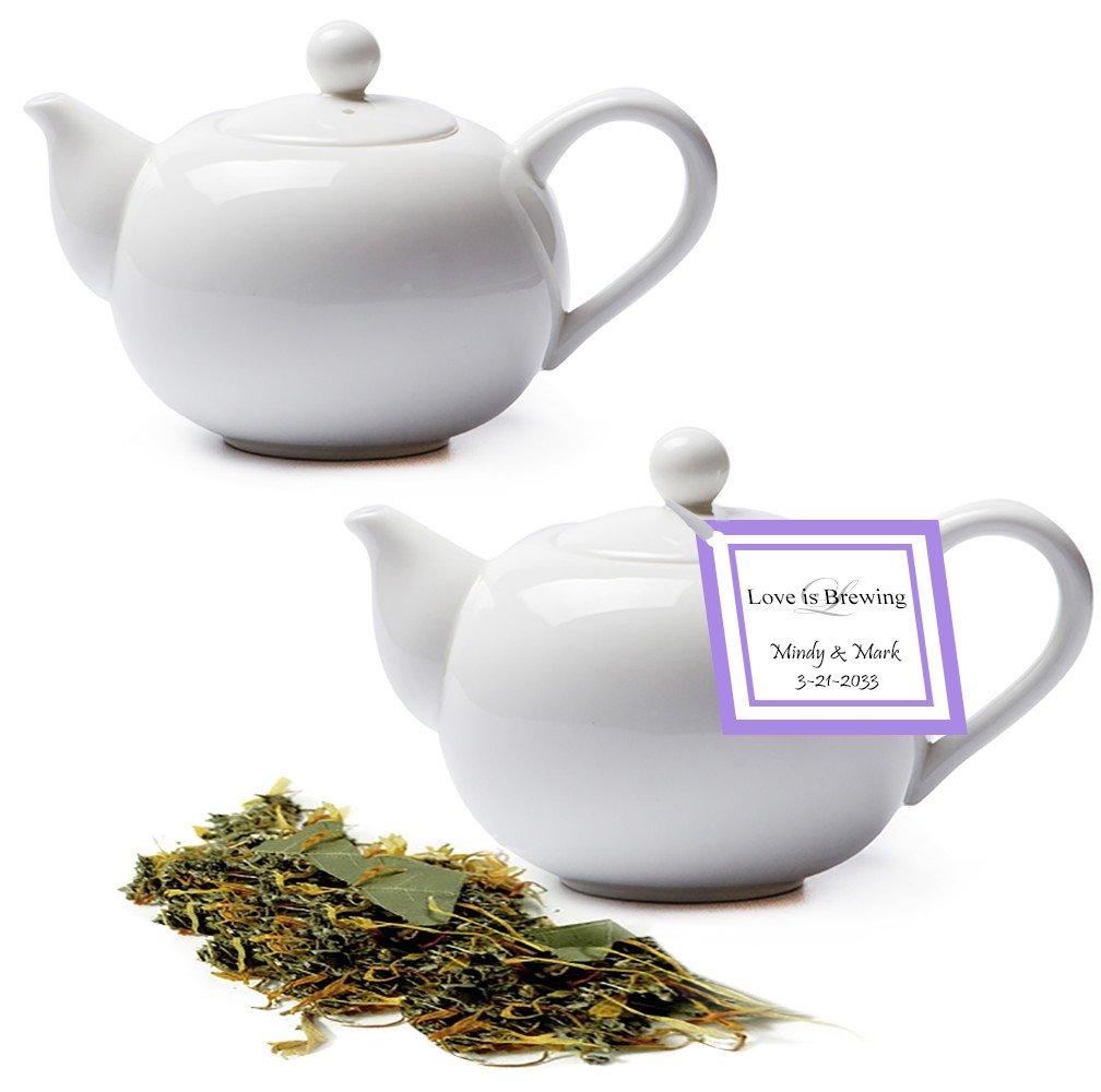 Tea Bridal Shower Teapot Favors