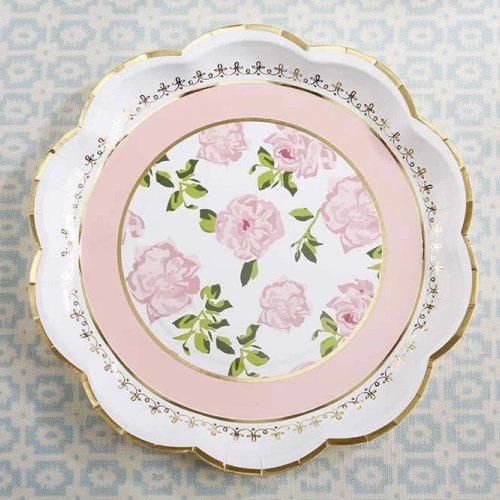 Tea Bridal Shower Whimsy Paper Plates