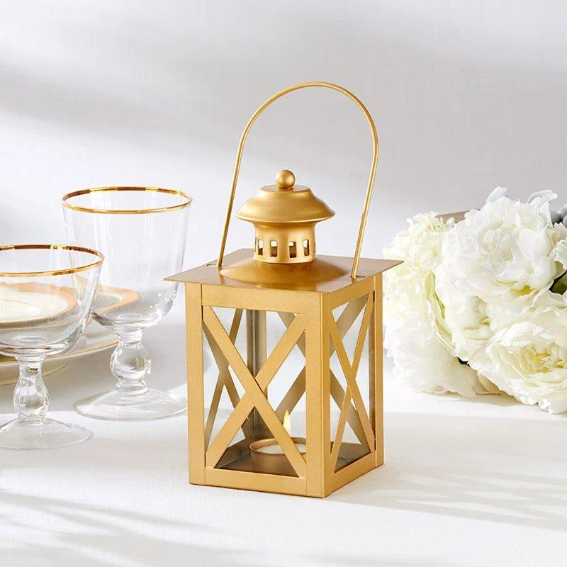 Classic Gold Decorative Wedding Lanterns