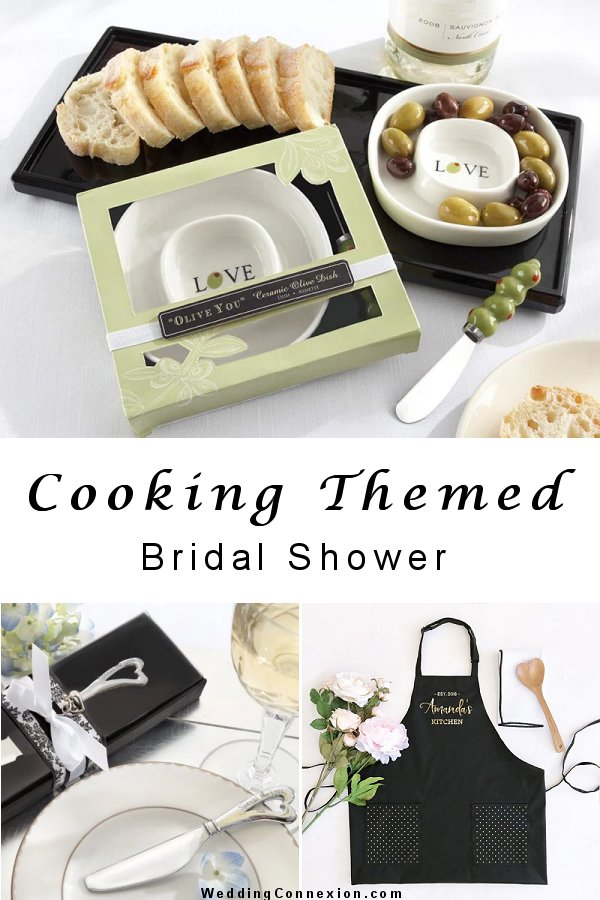 Are you hosting a cooking themed bridal shower? If so, visit us at WeddingConnexion.com for great ideas.