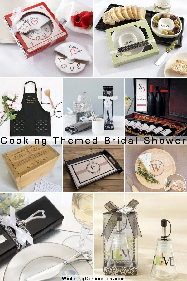 Plan a delightful cooking themed bridal shower with unique party ideas at WeddingConnexion.com