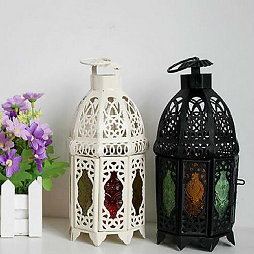 The European Style lanterns make for the perfect cultural wedding decor accessory.