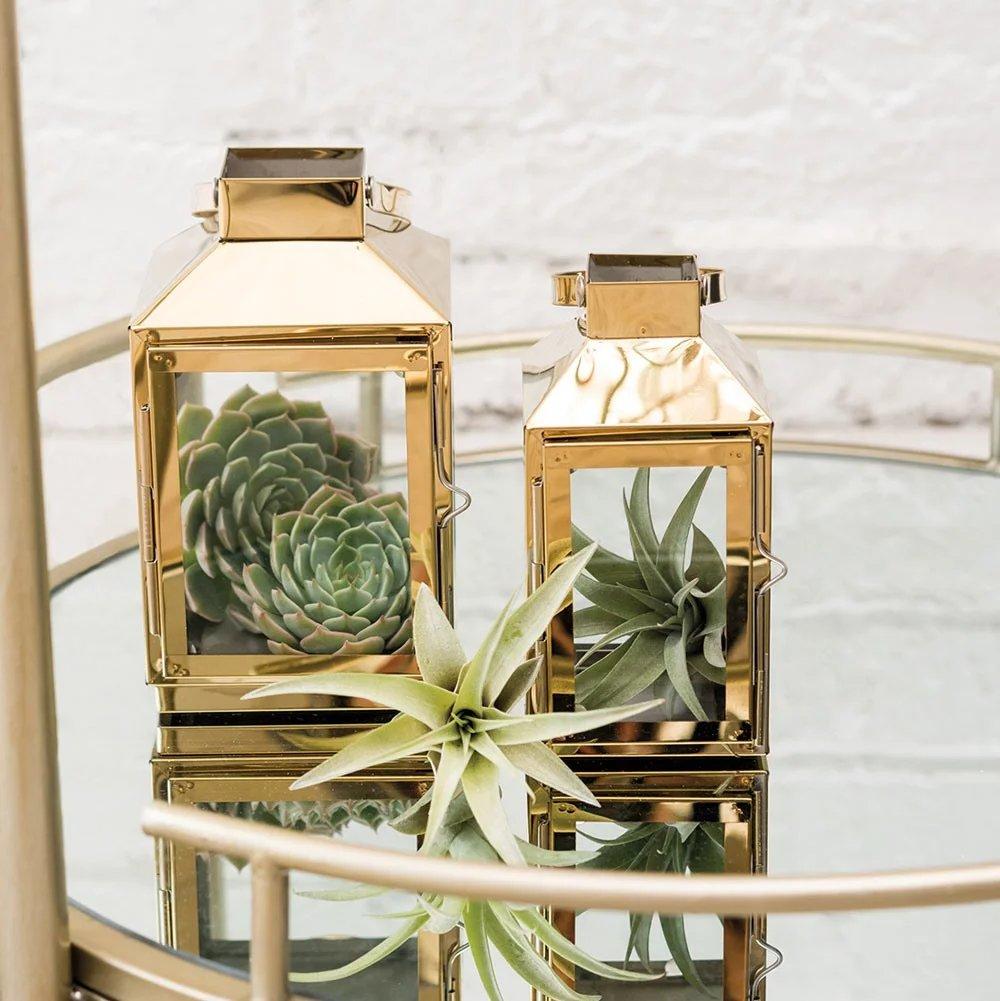 Gold Decorative Wedding Lanterns