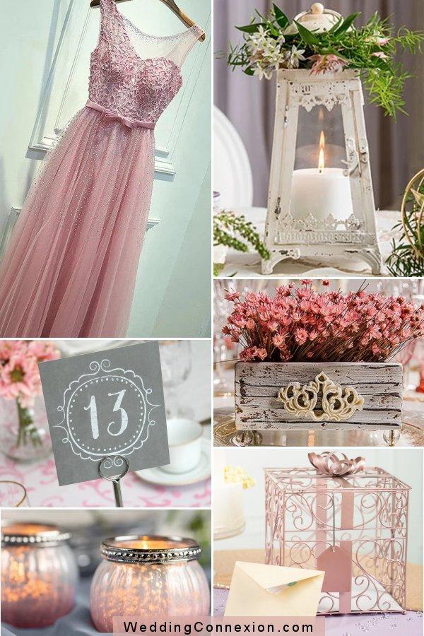 Unique Vintage Romantic Wedding Themed Favor And Decor Ideas