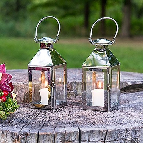 Silver Stainless Decorative WeddingLanterns