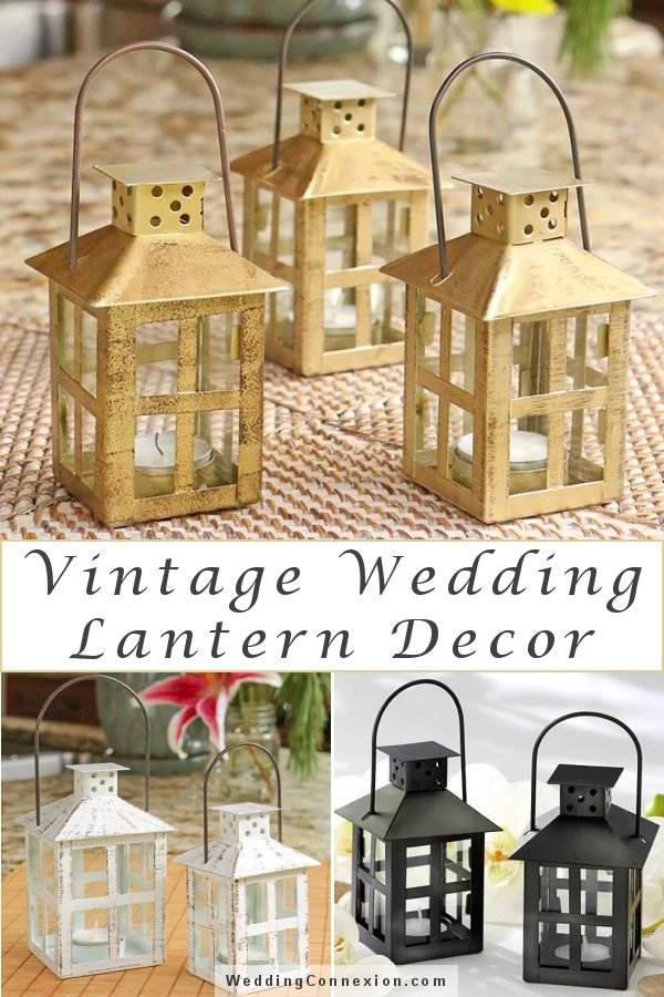 Vintage Decorative Wedding Lanterns