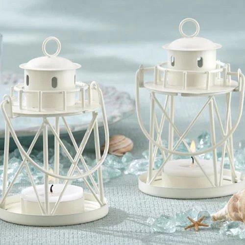 Beach Wedding Themed Lighthouse Lanterns