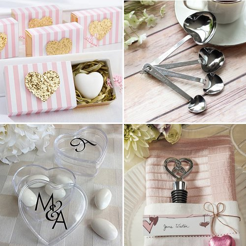 Love-Heart Wedding Favors