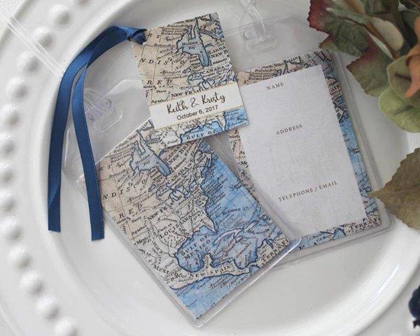 Blue Seas Luggage Tags