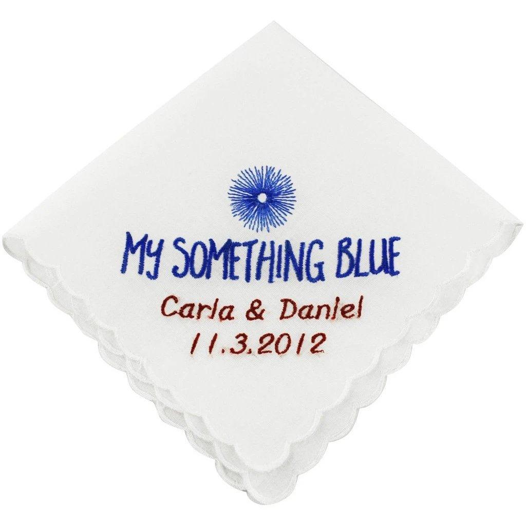My Something Blue Handkerchief
