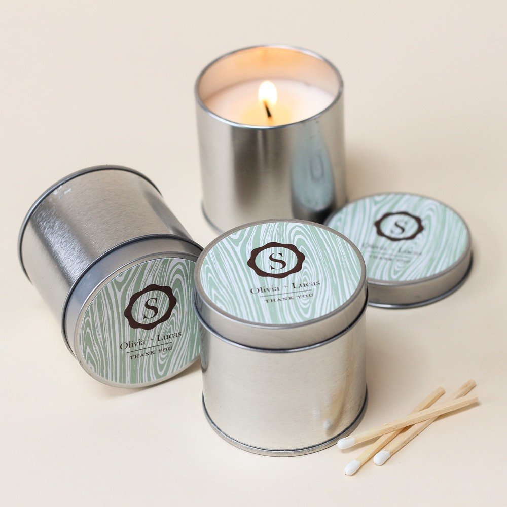 Personalized Travel Candle