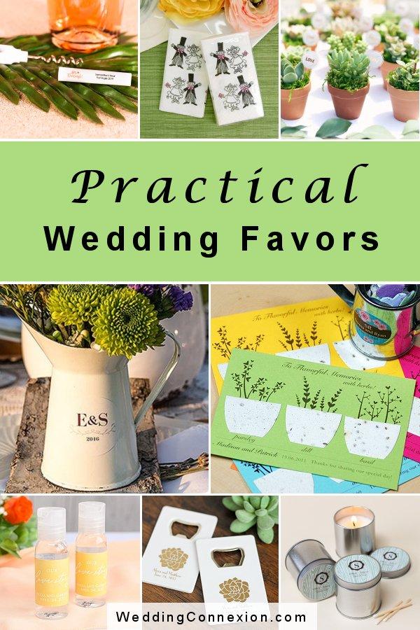 Practical wedding favors that your guests wont' leave behind   WeddingConnexion.com