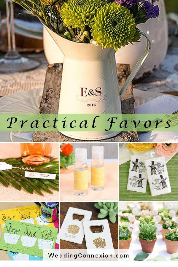 Practical wedding favor ideas that are sure to please your guests   WeddingConnexion.com