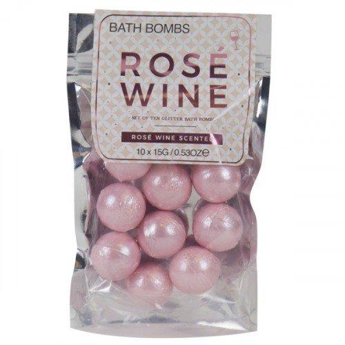 Rosé Wine Bath Bomb Honeymoon Bridal Shower Gift Idea