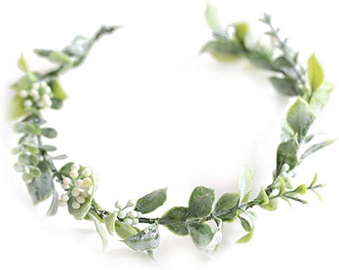 Boho Bridal Floral Crown