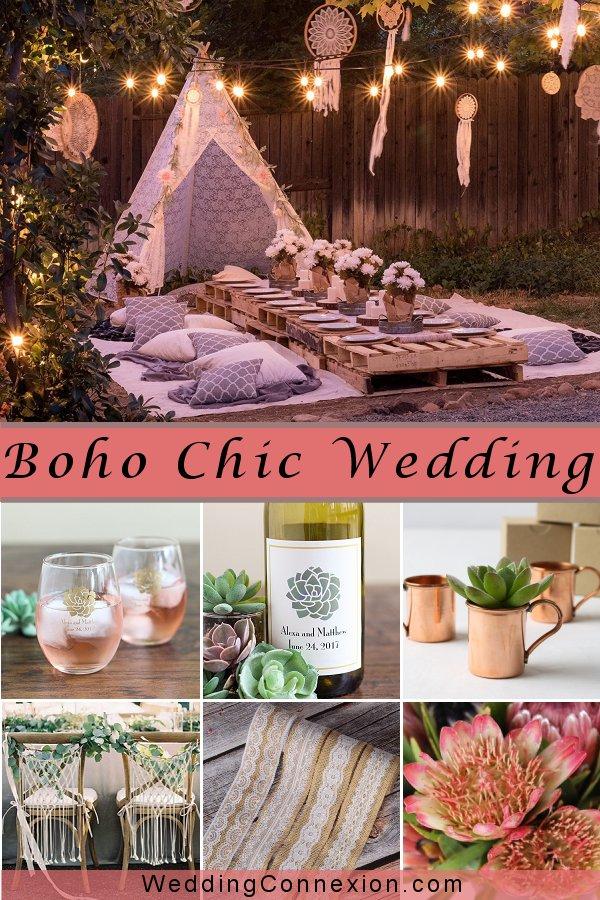 Boho Chic Wedding  | WeddingConnexion.com